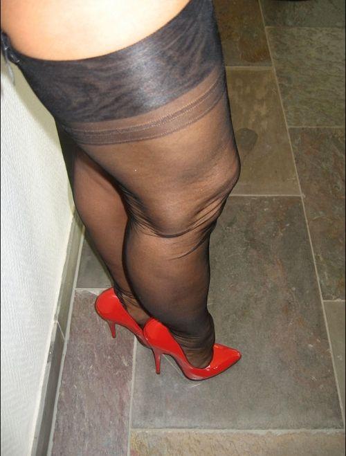 High Heel And Stockings Fetish