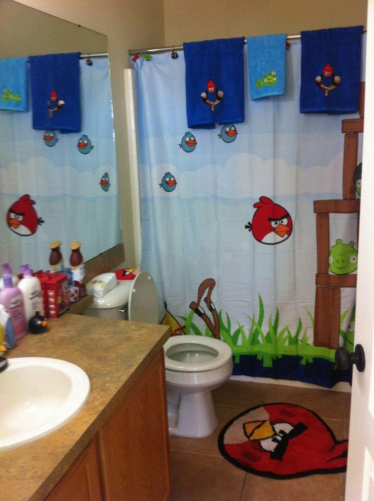 Angry Birds Bathroom Decor Parker Pinterest