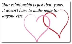 Great quote about relationships...