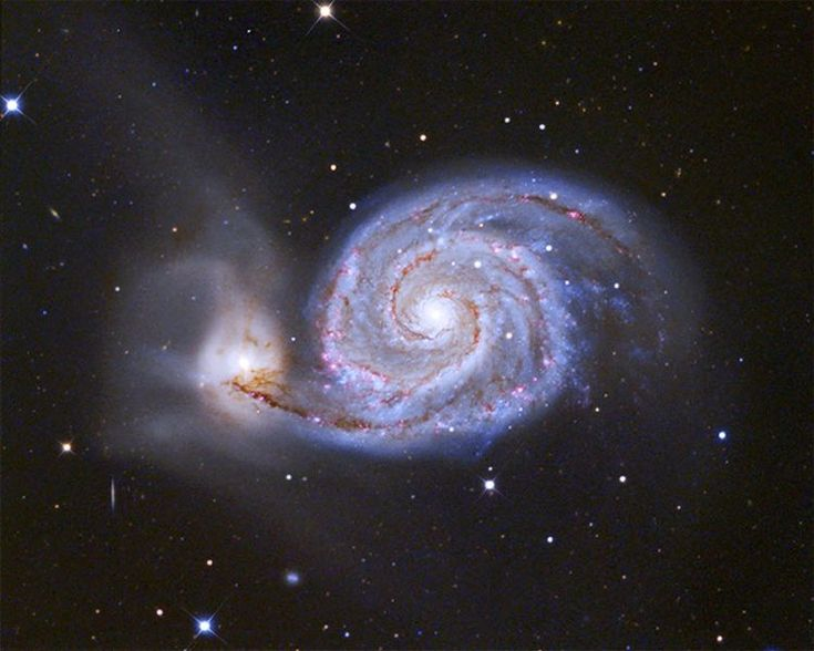 Image result for Whirlpool Galaxy