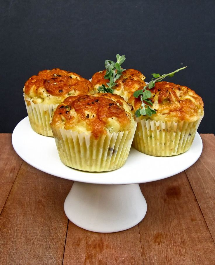 Cheese and Onion Muffins   easily gluten free @Karen Brady and is ...