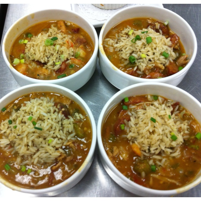 shrimp chicken and andouille gumbo chicken shrimp and andouille gumbo ...