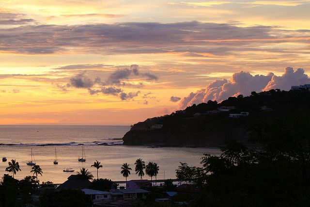 The Sunset. San Juan Del Sur, Nicaragua. Photo by Ashley Brown @Hot Rock Pictures