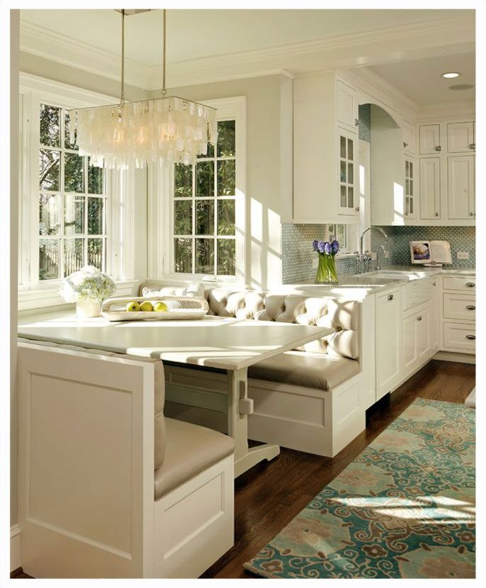 Eat in kitchen ideas decor fun pinterest for Eating kitchen ideas