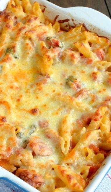 Chicken Sausage Pasta Bake | Recipe