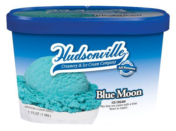 Hudsonville Blue Moon Ice Cream | Home Sweet Mitten | Pinterest