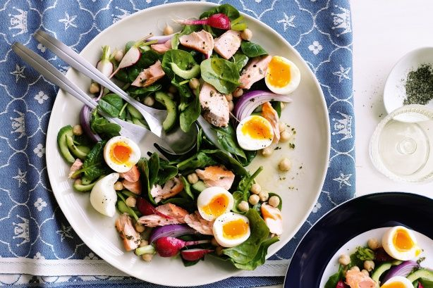 Egg and beetroot salad | NOLA Menu | Pinterest