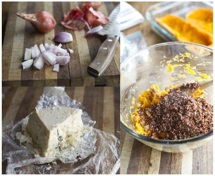 ... Ella | Twice Baked Butternut Squash (with quinoa and gorgonzola