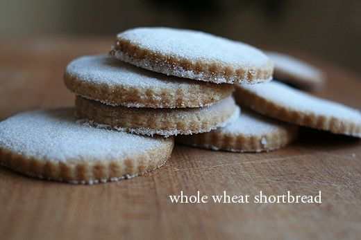 "Whole Wheat Shortbread Cookies | Good Eats ""Cookies"" | Pinterest"
