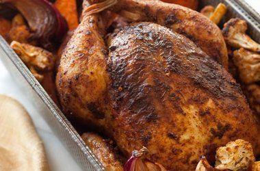 Moroccan-Spiced Roast Chicken | Food - ( Chicken & Turkey ) | Pintere ...