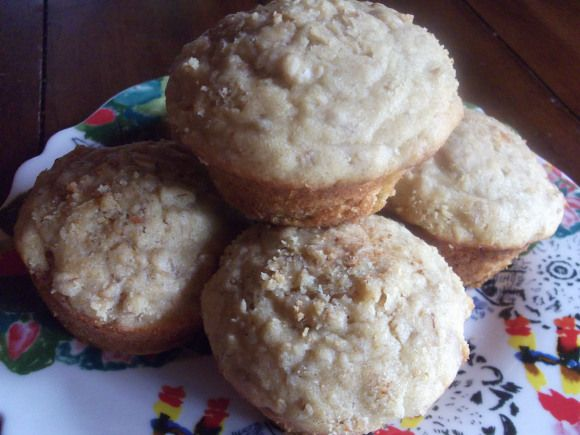 gluten-free oatmeal muffins | Recipes to try | Pinterest