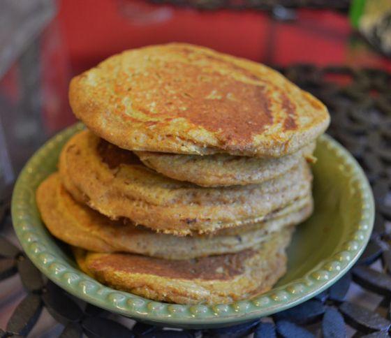 Pumpkin pie pancakes | Bean Food | Pinterest