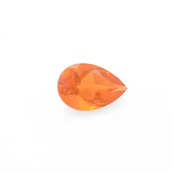 Jalisco Fire Opal Gemstone Pear 6x4 mm by AAAJEWELRYSTORE on Etsy, $20 ...