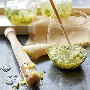 Fresh Pineapple Mojito Recipe
