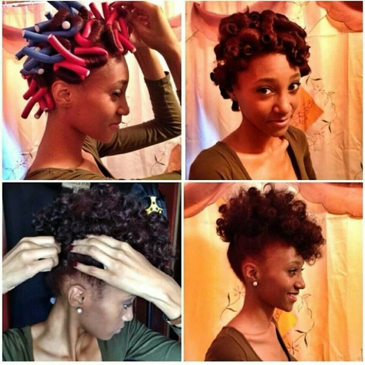 Hairstyles Using Flexi Rods : African Naturalistas: Defining Your Natural Hair Curls With Flexi Rods