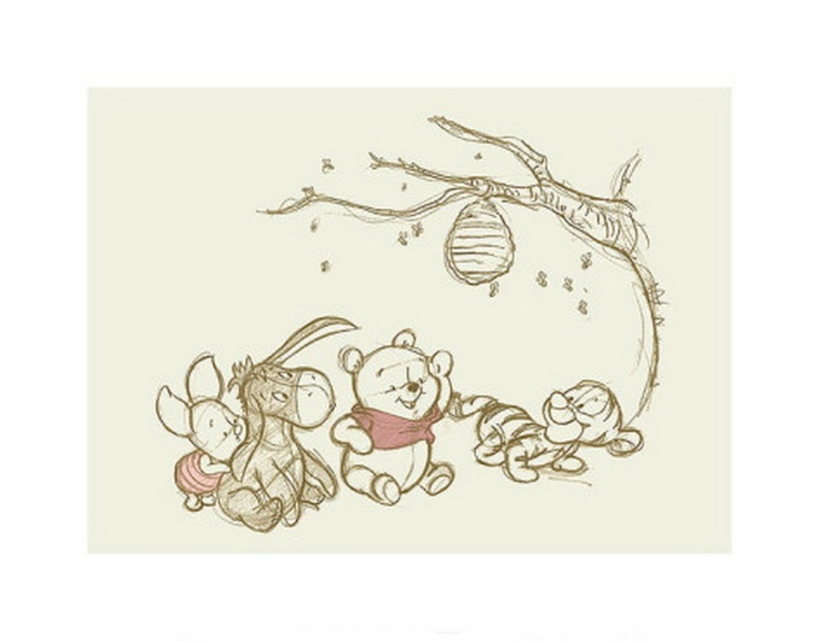 Baby Pooh and friends   Pooh   Pinterest