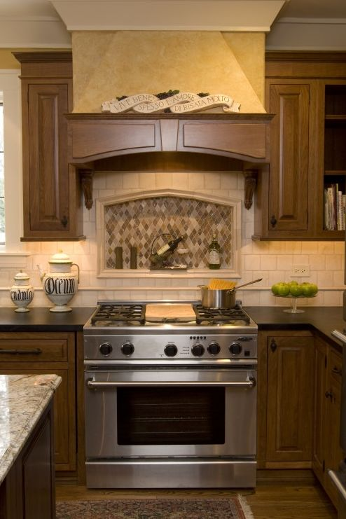 shelf behind stove kitchen and bath pinterest