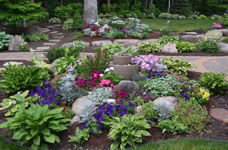 new backyard rock gardens summer 2013 garden
