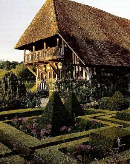 French manor house