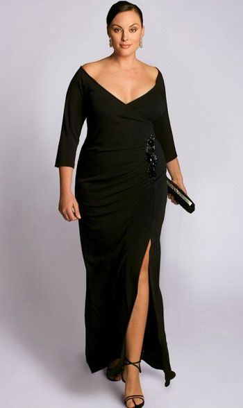 elegant plus size evening gown