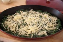 Spinach Gratin with Hard Boiled Eggs | Recipe