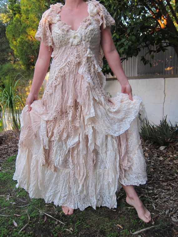 Lace And Shabby Chic Dress My Style Pinterest