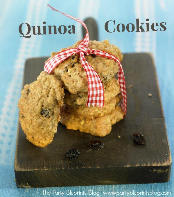 Delicious Quinoa Cookie Recipe! | Pinterest