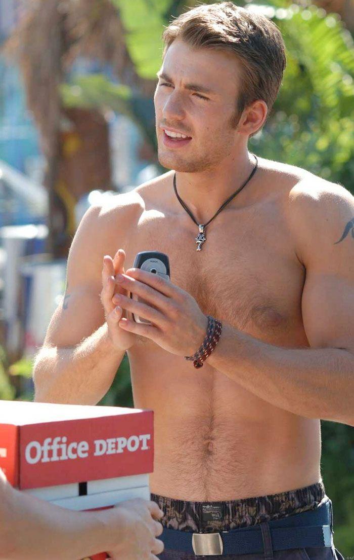 Nuestro querido Chris Evans desnudo - Revista Zero