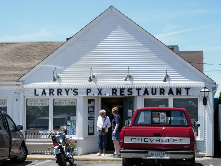 Cape Cod My favorite good old-fashioned diner breakfast at Larry's P.X ...