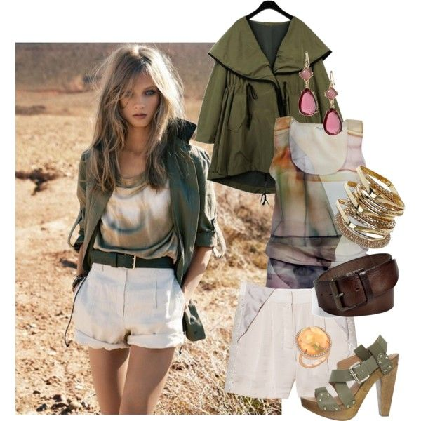 Safari Bound, created by heatherhobbie on Polyvore