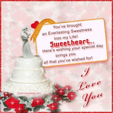 Romantic Birthday Cake Images For Boyfriend : romantic birthday wishes for boyfriend!! Birthday Cards ...