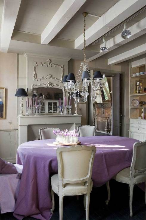 Purple dining room decor ideas pinterest for Purple dining room decorating ideas