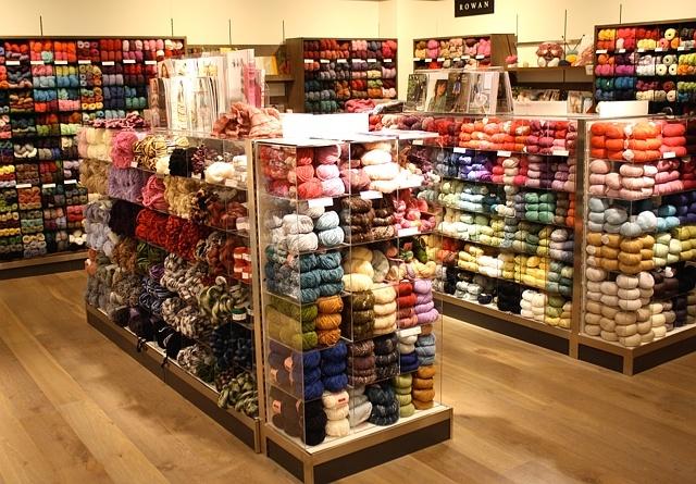 Knitting Wool Shops : one sheepish girl knitting amp yarn shopping with my pen pal