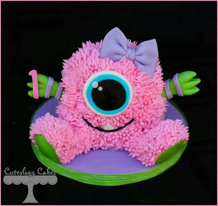 Smash Cake Photos Monsters Inc