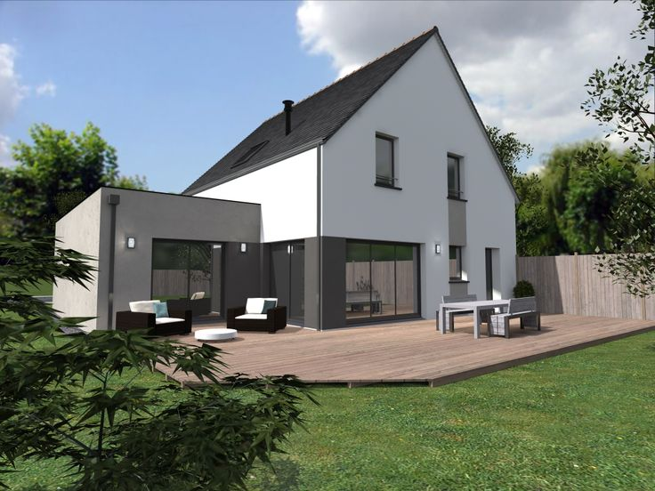 Pin by alliance construction on nos maisons tendance for Avocat construction maison