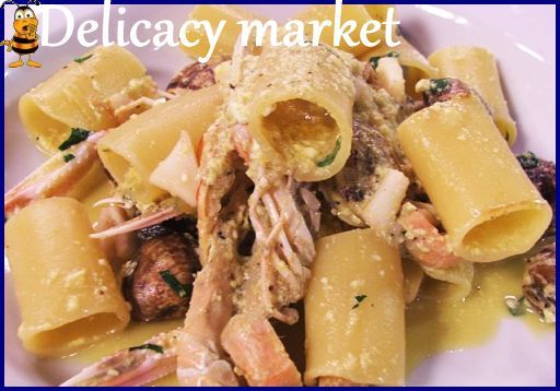 Paccheri And Clams Recipes — Dishmaps