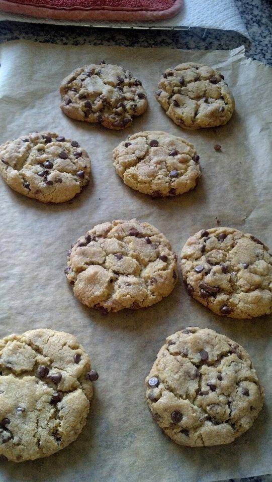 my chocolate chip heath bar cookies. | Cookies/Bars | Pinterest