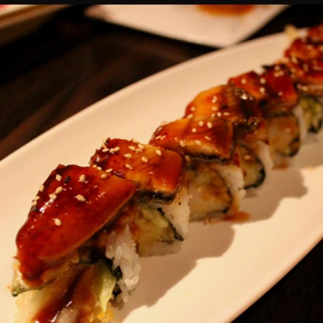 Dragon Roll Sushi | Fish | Pinterest