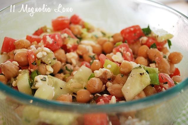 Middle Eastern salad | Side dishs & Salads | Pinterest
