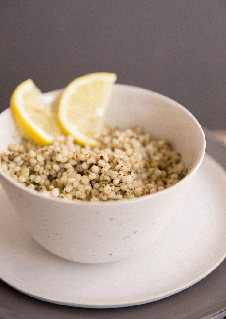 Lemon Israeli Couscous Recipes — Dishmaps