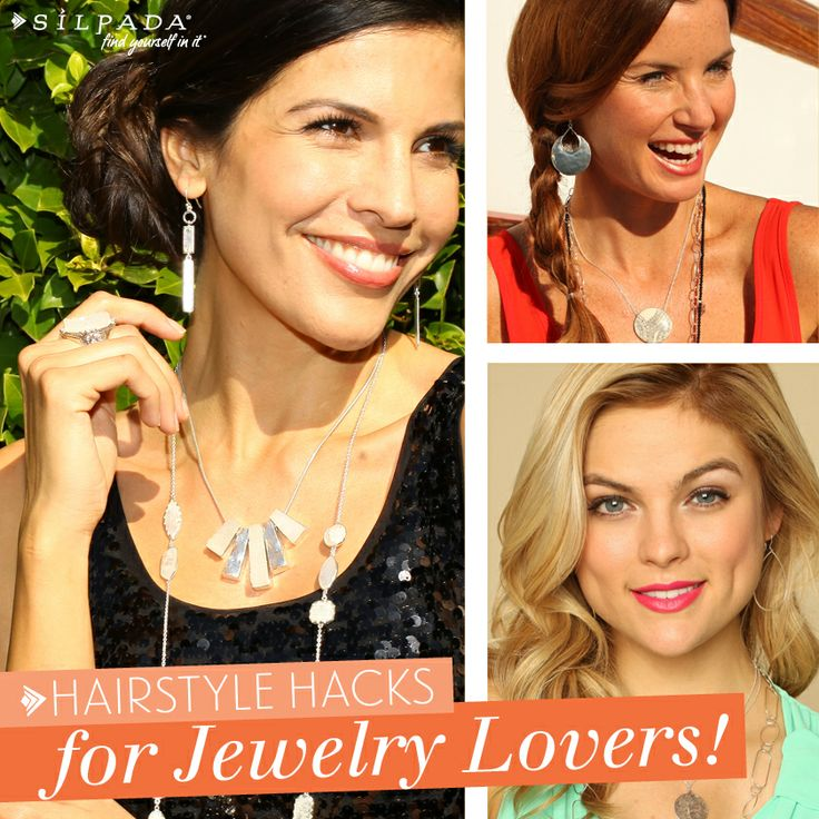 Click here for #hairstyles for jewelry lovers! | #Silpada blog