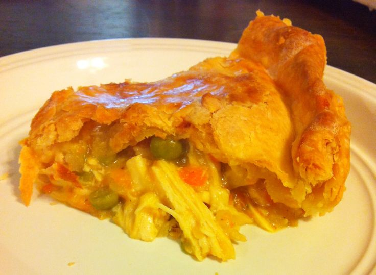 Chicken Pot Pie in the Crock Pot Use home made cream of chicken and ...