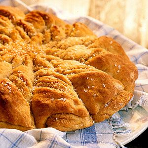 Shape the dough before letting it rise in the refrigerator overnight. You'll love waking up to this ready-to-bake treat any day of the year.
