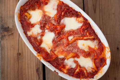 Lasagna: Red Pepper and Mozzarella | Mmmm...get in my belly! | Pinter ...