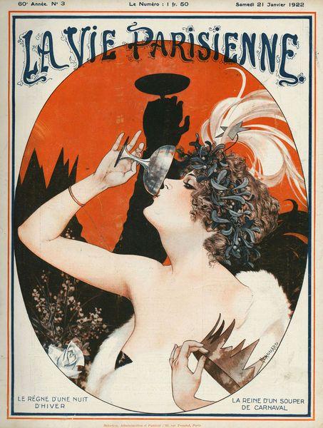 La vie parisienne french designs pinterest - La parisienne journal ...