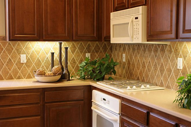 custom kitchen backsplash design home sweet home pinterest