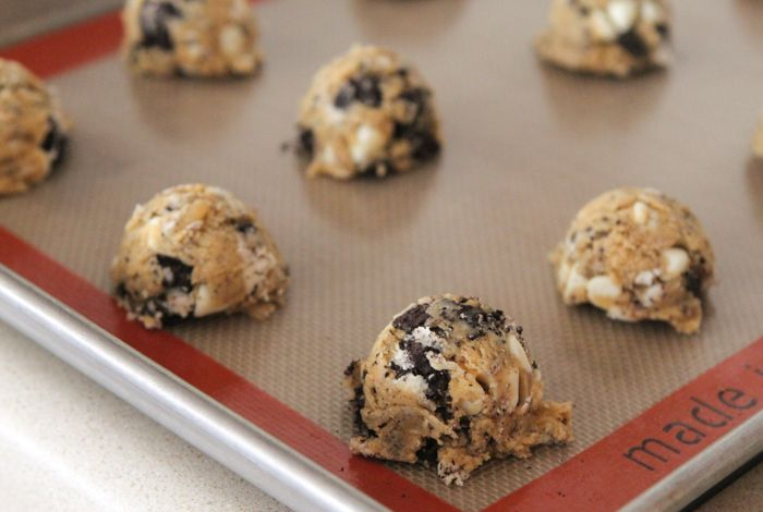 Cookies and Cream Peanut Butter Cookies | My Fav - Sweets! | Pinterest