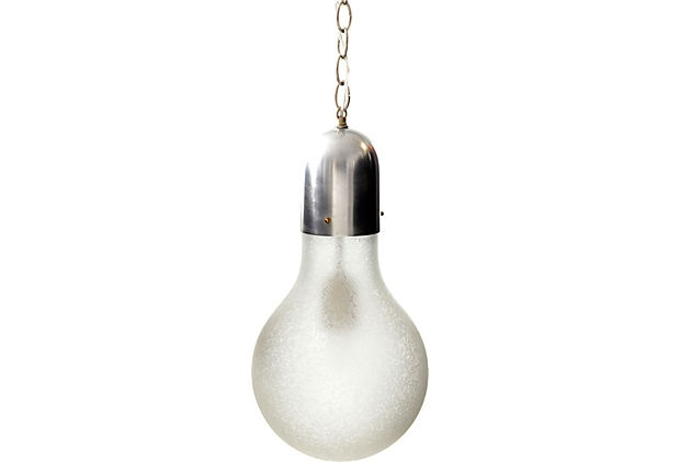 light bulb shaped pendant fixture on. Black Bedroom Furniture Sets. Home Design Ideas