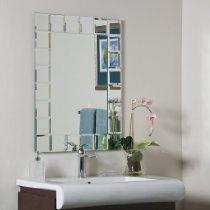 Montreal Modern Wall Mirror Mirror 31 5 H X 23 6 W X 0 5 D