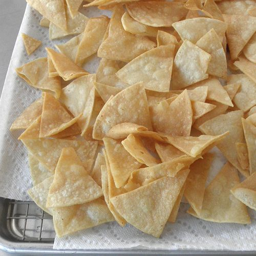 Homemade Tortilla Chips | Appetizers and snacks | Pinterest